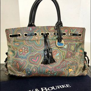 "DOONEY & BOURKE Retired Rare ""Groovy Scribble"""